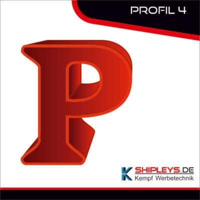 shipleys - kempf Werbetechnik - Leuchtbuchstaben - Profilbuchstaben - P4