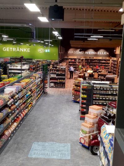 shipleys - Kempf Werbetechnik - Erstes digitales Floormarketing Projekt bei WASGAU umgesetzt