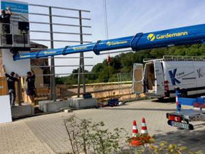 Shipleys GmbH - Kempf Werbetechnik - Bauschilder