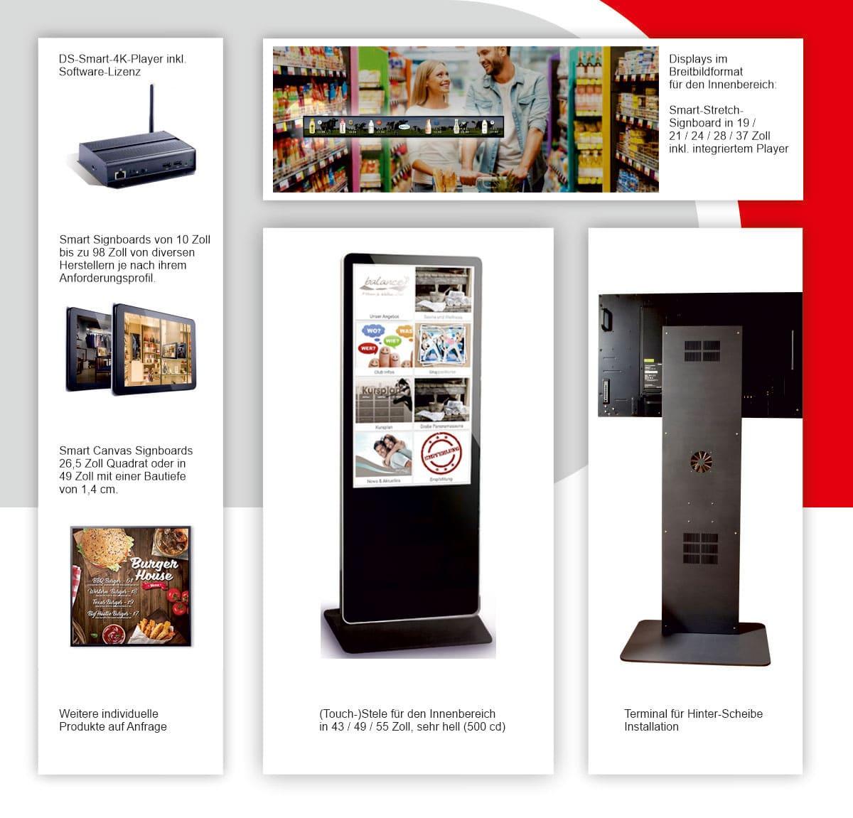 shipleys - Kempf Werbetechnik - Indoor Digital Signage Lösungen