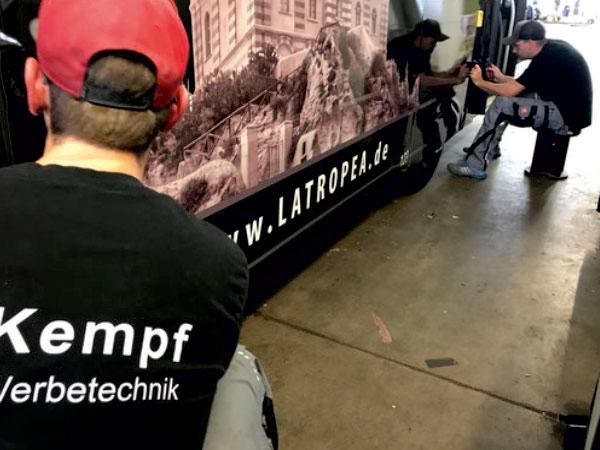 shipleys - Kempf Werbetechnik - Aktuelle Stellenangebote - Beklebungen